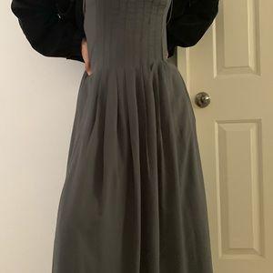 Banana Republic beautiful grey dress